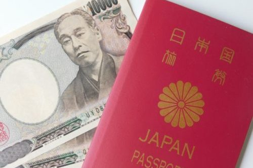 パスポートとお金(旅費)
