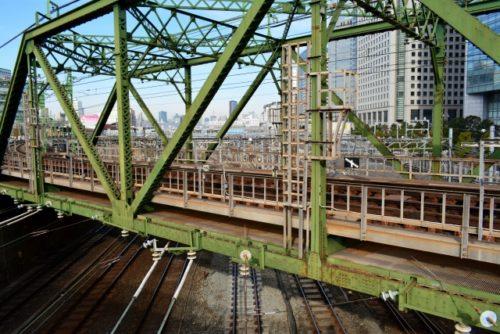 陸橋(東京品川区・京急)