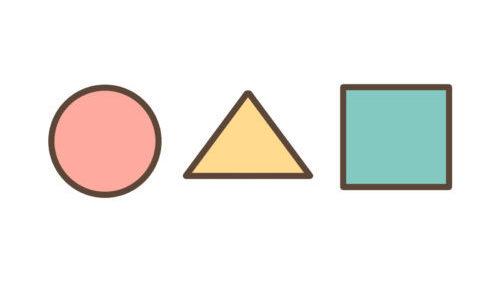 図形(丸・三角・四角)