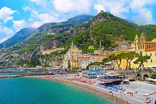 アマルフィ海岸(イタリア)