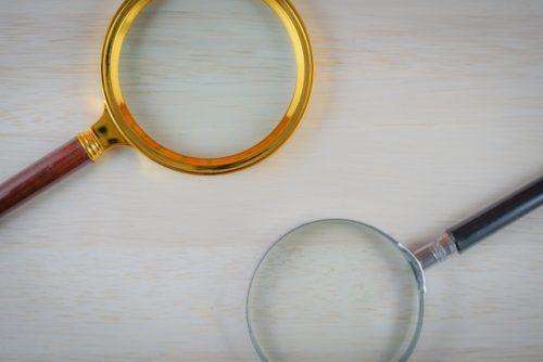 ルーペ(虫眼鏡・拡大鏡)