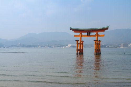 両部鳥居(厳島神社)