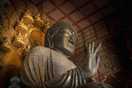奈良の大仏(東大寺盧舎那仏像)