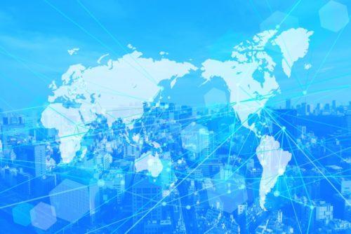 グローバルネットワークテクノロジー(インターネット世界地図)