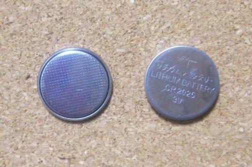リチウム電池(ボタン型電池)