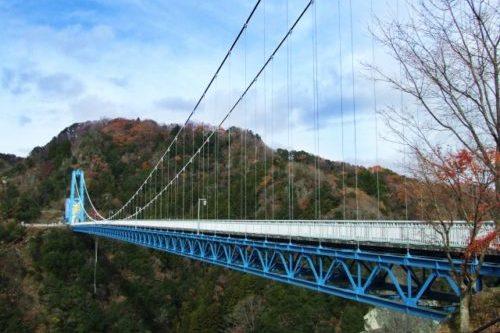 竜神峡(竜神大吊橋)