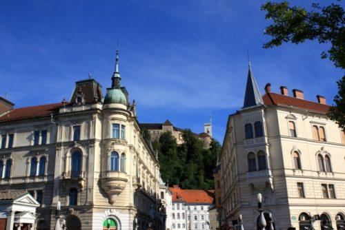 リュブリャナ市街(スロベニア)