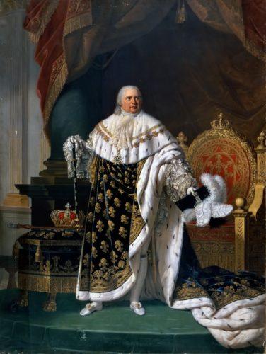 ルイ18世(フランス王・パブリックドメイン)