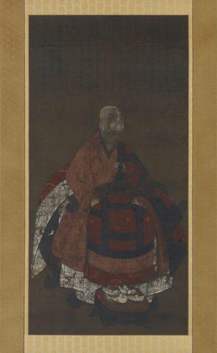 瑞渓周鳳像(京都大学貴重資料デジタルアーカイブ)