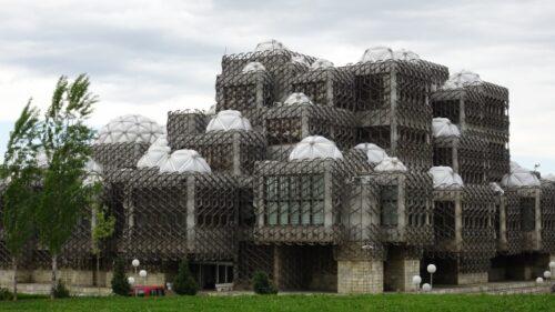 コソボ国立図書館(プリシュティナ)